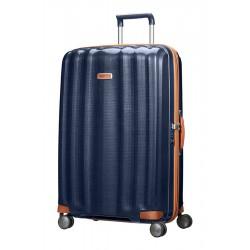 Labai didelis plastikinis lagaminas Samsonite Lite-Cube DLX LD Mėlynas (Midnight Blue)