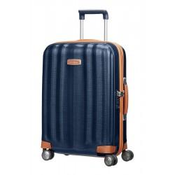 Mažas plastikinis lagaminas Samsonite Lite-Cube DLX M Mėlynas (Midnight Blue)
