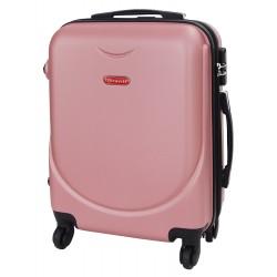 Mažas plastikinis lagaminas Gravitt 310A-M Rožinis