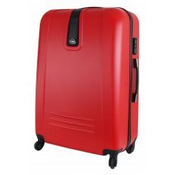 Didelis plastikinis lagaminas Gravitt 168A-D Raudonas