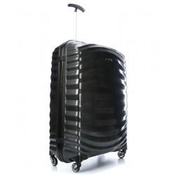 Vidutinis plastikinis lagaminas Samsonite Lite-Shock V Juodas