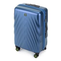 Vidutinis plastikinis lagaminas Wittchen 56-3P-802 Mėlynas