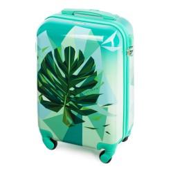 Vaikiškas plastikinis lagaminas Wittchen 56-3A-641 Žalias