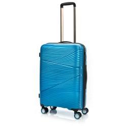 Vidutinis plastikinis lagaminas Swissbags Jaipur-V Turkio spalva