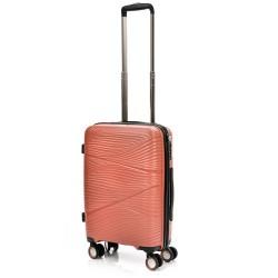 Mažas plastikinis lagaminas Swissbags Jaipur-M Oranžinis
