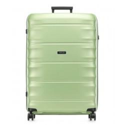 Didelis plastikinis lagaminas Titan Highlight-D Šviesiai žalias