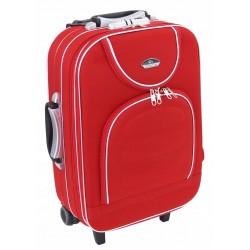 Mažas medžiaginis lagaminas Suitcase 801-M Raudonas
