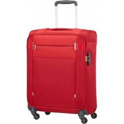 Mažas lagaminas Samsonite Citybeat M-4W Raudonas