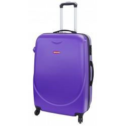 Vidutinis plastikinis lagaminas Gravitt 310A-V Violetinis