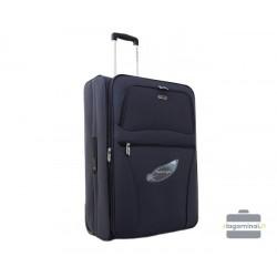 Vidutinis medžiaginis lagaminas Decent AIR11038-V Pilkas