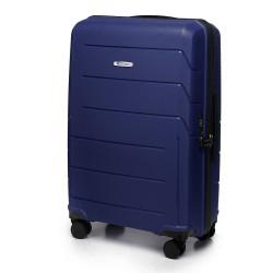 Vidutinis plastikinis lagaminas Wittchen 56-3T-772 Mėlynas