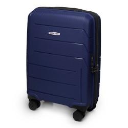 Mažas plastikinis lagaminas Wittchen 56-3T-771 Mėlynas