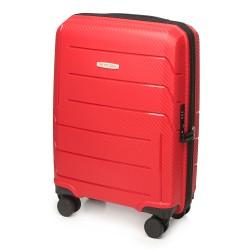 Mažas plastikinis lagaminas Wittchen 56-3T-771 Raudonas