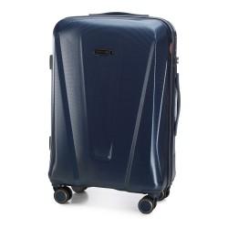 Vidutinis plastikinis lagaminas Wittchen 56-3P-122 Tamsiai mėlynas