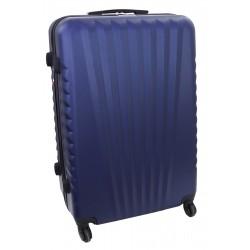 Didelis plastikinis lagaminas Gravitt 888A-D Tamsiai mėlynas
