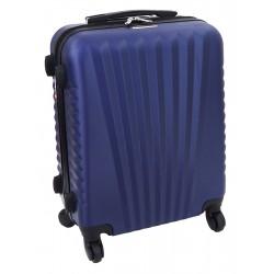 Mažas plastikinis lagaminas Gravitt 888A-M Tamsiai mėlynas