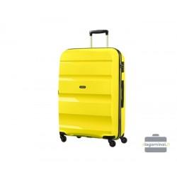 Mažas Samsonite lagaminas American Tourister Bon Air M Geltonas