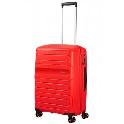 Vidutinis lagaminas American Tourister Sunside V Raudonas (Sunset Red)