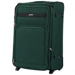 Didelis medžiaginis lagaminas Wings 1605-2-D Tamsiai žalias