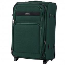 Vidutinis medžiaginis lagaminas Wings 1605-2-V Tamsiai žalias