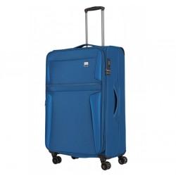 Didelis medžiaginis lagaminas Titan Carida-D Mėlynas