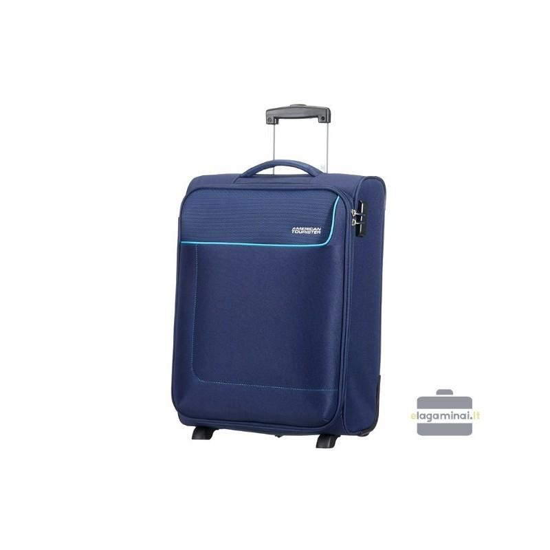 Mažas Samsonite lagaminas American Tourister Funshine M Mėlynas