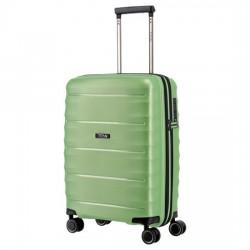 Mažas plastikinis lagaminas Titan Highlight-M Šviesiai žalias