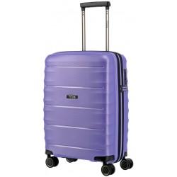 Mažas plastikinis lagaminas Titan Highlight-M Violetinis