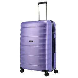 Didelis plastikinis lagaminas Titan Highlight-D Violetinis