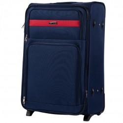 Didelis medžiaginis lagaminas Wings 1605-2-D Mėlynas