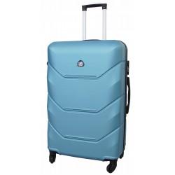 Vidutinis plastikinis lagaminas Gravitt 950-V Šviesiai mėlynas