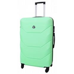 Vidutinis plastikinis lagaminas Gravitt 950-V Šviesiai žalias