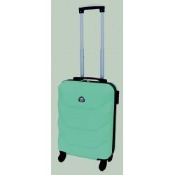 Mažas plastikinis lagaminas Gravitt 950-M Šviesiai žalias