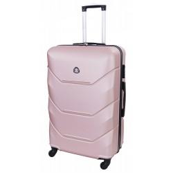 Didelis plastikinis lagaminas Gravitt 950-D Rožinis