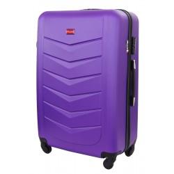 Didelis plastikinis lagaminas Gravitt Travel 602-D Violetinis