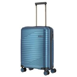 Mažas plastikinis lagaminas Titan Transport M Mėlynas