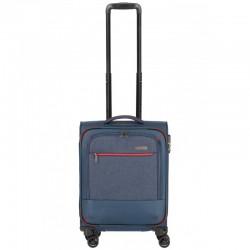 Mažas medžiaginis lagaminas Travelite Arona V Mėlynas