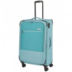Didelis medžiaginis lagaminas Travelite Arona D Šviesiai mėlynas (Aqua)