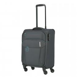 Mažas medžiaginis lagaminas Travelite Go M Pilkas
