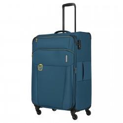 Didelis medžiaginis lagaminas Travelite Go D Mėlynas (Petrol)