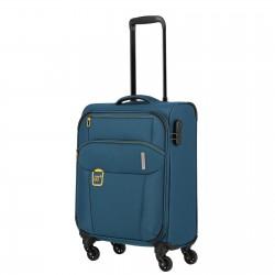 Mažas medžiaginis lagaminas Travelite Go M Mėlynas (Petrol)