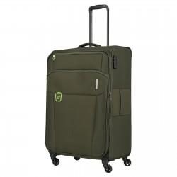 Didelis medžiaginis lagaminas Travelite Go D Žalias (Khaki)