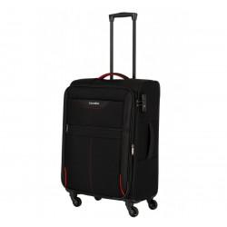 Vidutinis medžiaginis lagaminas Travelite Sunny Bay V Juodas