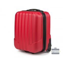 Mažas plastikinis Wizzair lagaminas VIP Travel V25-10-232-LMW Raudonas
