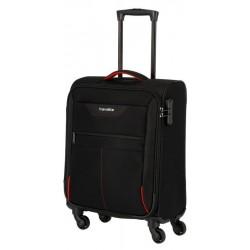 Mažas medžiaginis lagaminas Travelite Sunny Bay M Juodas