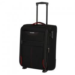 Mažas medžiaginis lagaminas Travelite Sunny Bay M-2w Juodas