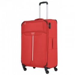 Didelis medžiaginis lagaminas Travelite Speedline D-4w Raudonas