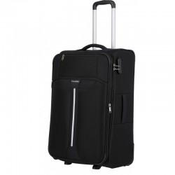 Vidutinis medžiaginis lagaminas Travelite Speedline V-2w Juodas
