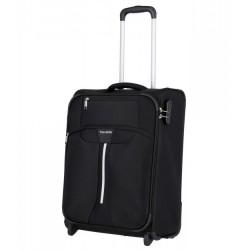 Mažas medžiaginis lagaminas Travelite Speedline M-2w Juodas