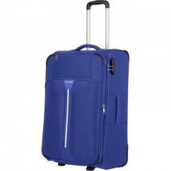 Vidutinis medžiaginis lagaminas Travelite Speedline V-2w Mėlynas